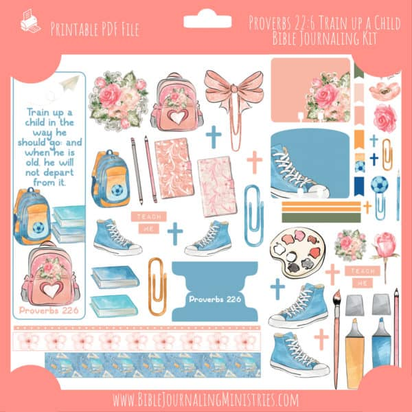 Proverbs 22:6 - Train up a Child Journaling Kit