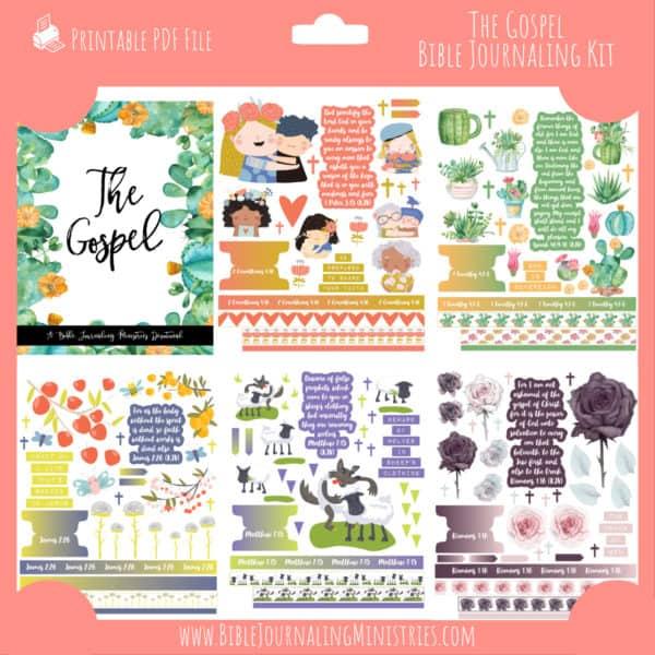 The Gospel Bible Journaling Kit and Devotional - September 2020