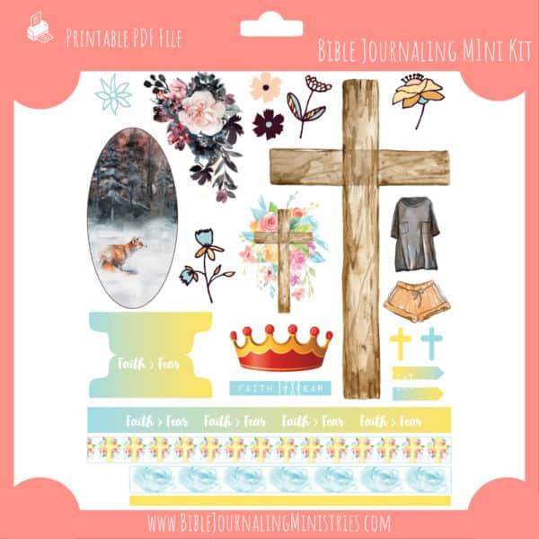 Faith > Fear Mini Bible Journaling Kit