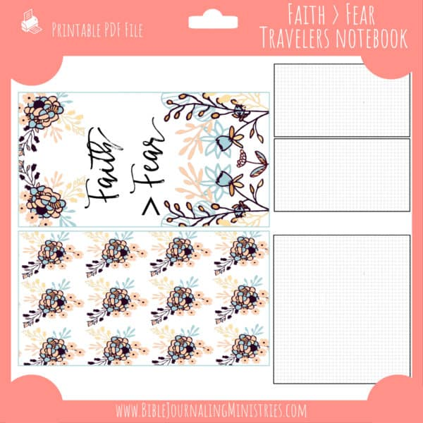 October Notebook Insert
