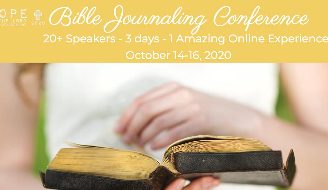 Free Hope in the Lord Online Bible Journaling Conference Tickets