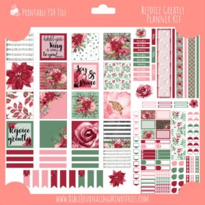 Rejoice Greatly Planner Kit