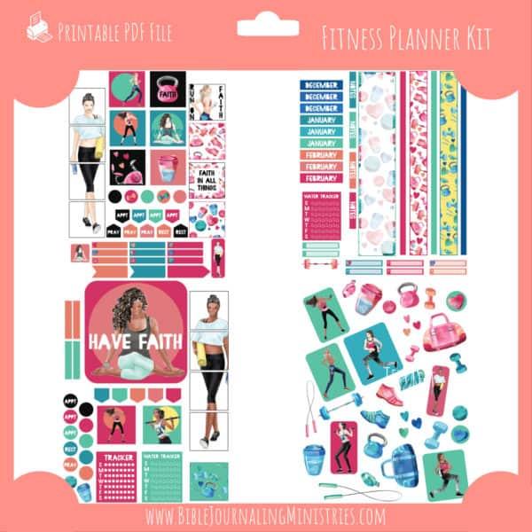 Fitness Planner Kit
