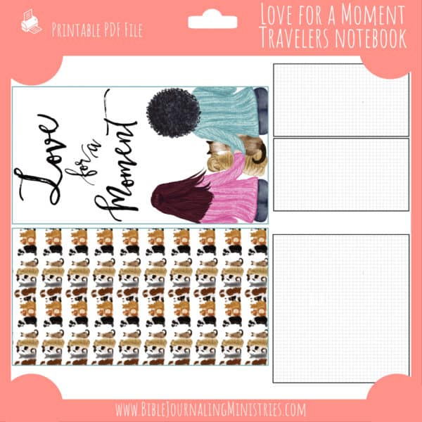 Love For a Moment Notebook Insert