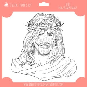 Jesus Digital Stamp