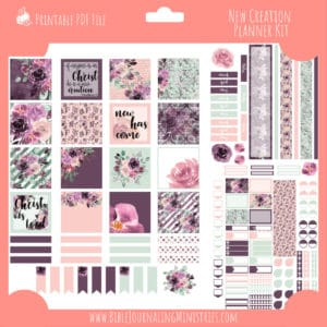 New Creation Planner Kit