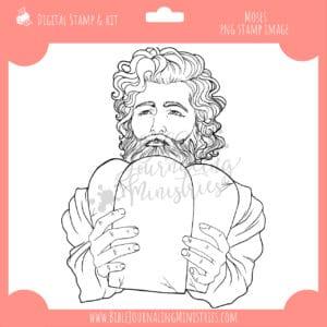 Moses Digital Stamp