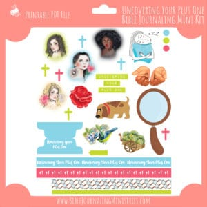 Uncovering Your Plus One Mini Bible Journaling Kit