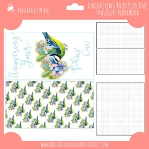 Uncovering Your Plus One Notebook Insert
