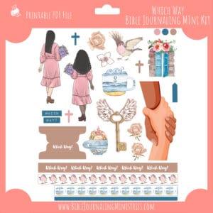 Which Way Mini Bible Journaling Kit