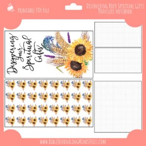Discovering Your Spiritual Gifts Notebook Insert