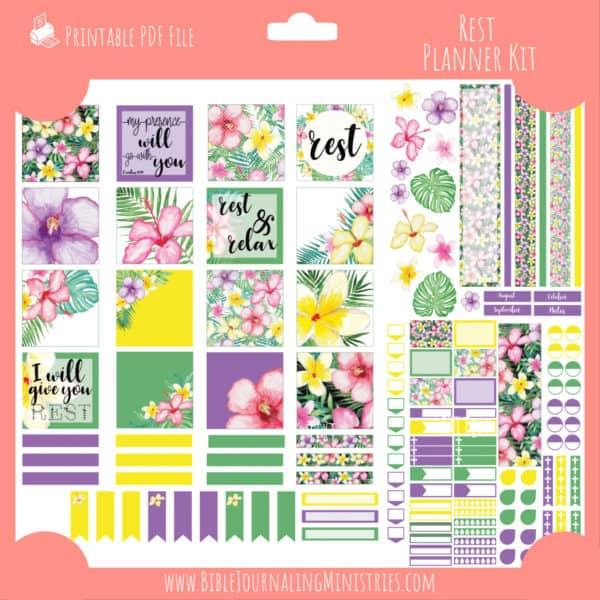 Rest Planner Kit