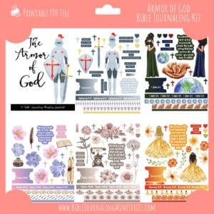 The Armor of God Journaling Kit and Devotional - September 2021 Kit