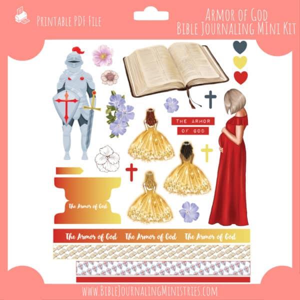 The Armor of God Mini Bible Journaling Kit