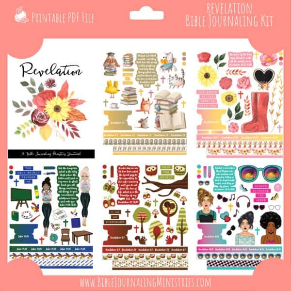 Revelation Journaling Kit and Devotional - October 2021 Kit